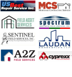Logos of some property preservation companies