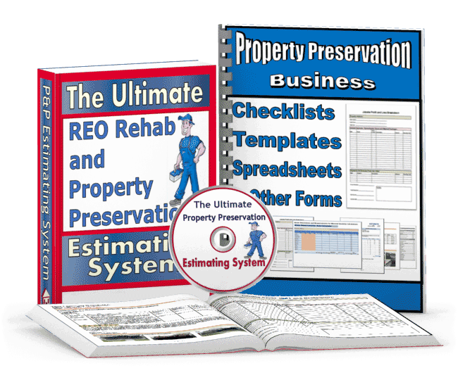 Property preservation business plan template
