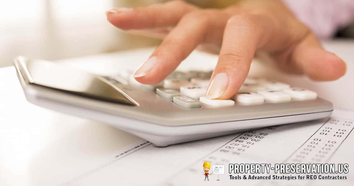 REO bidding and estimating