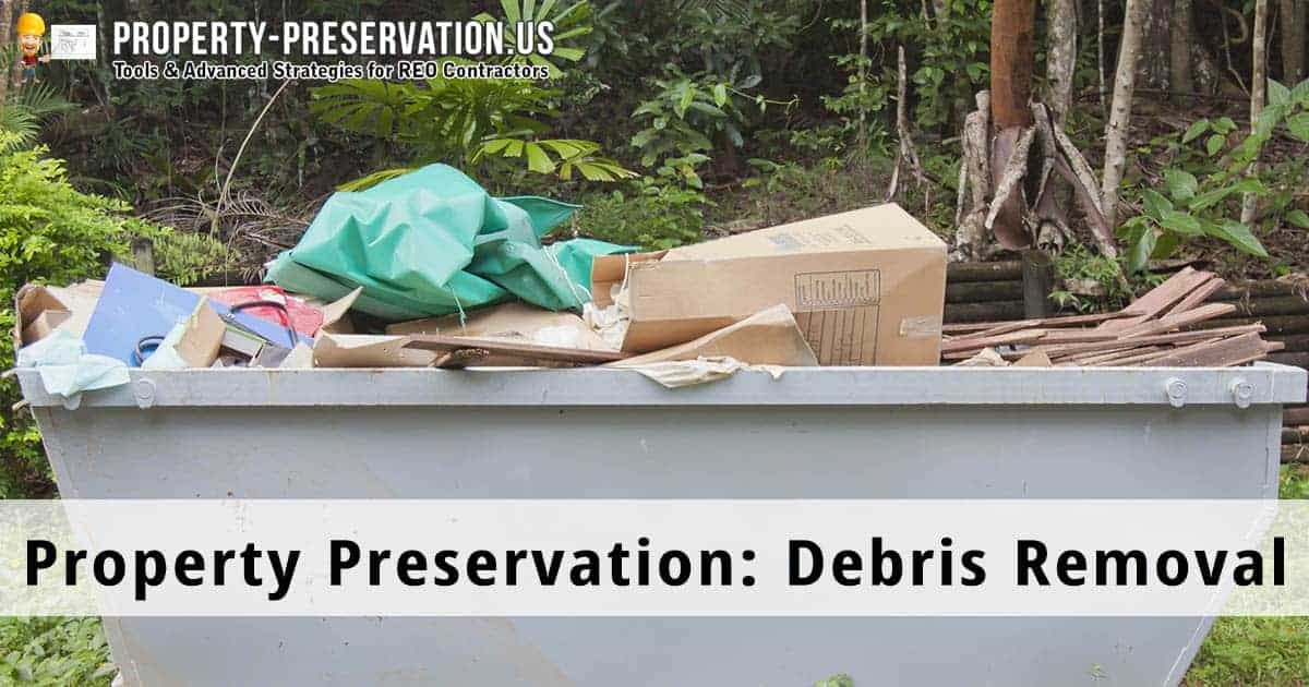 Debris and junk removal