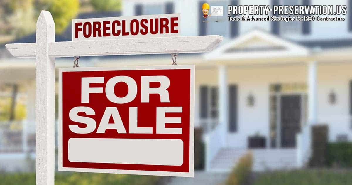 How foreclosure market works