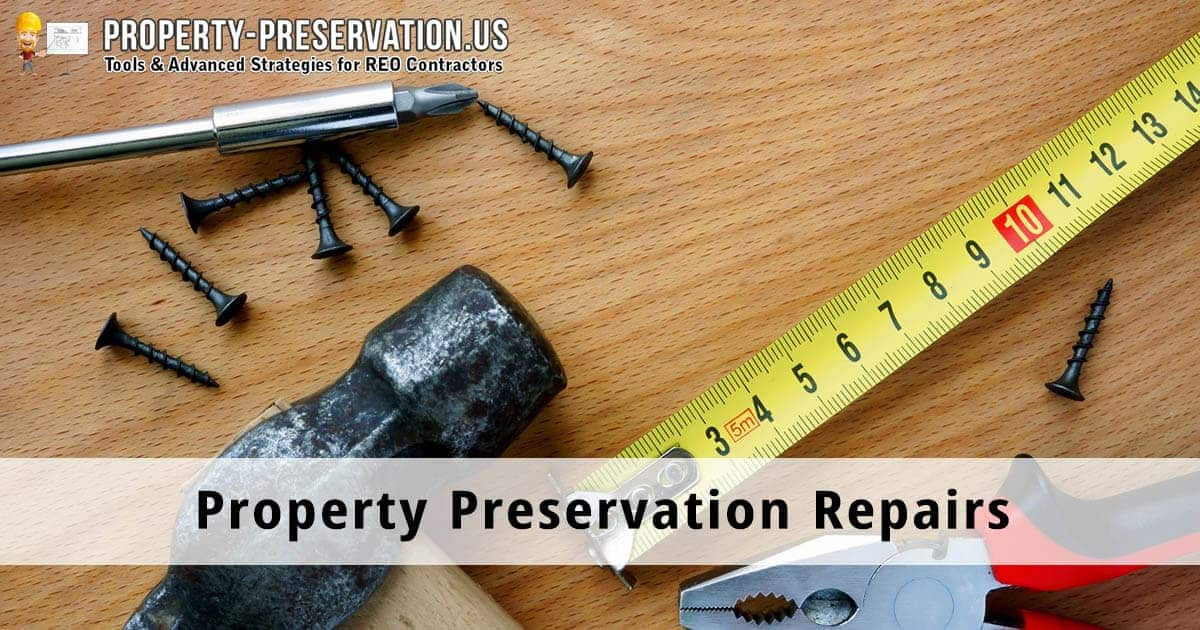 property preservation repairs