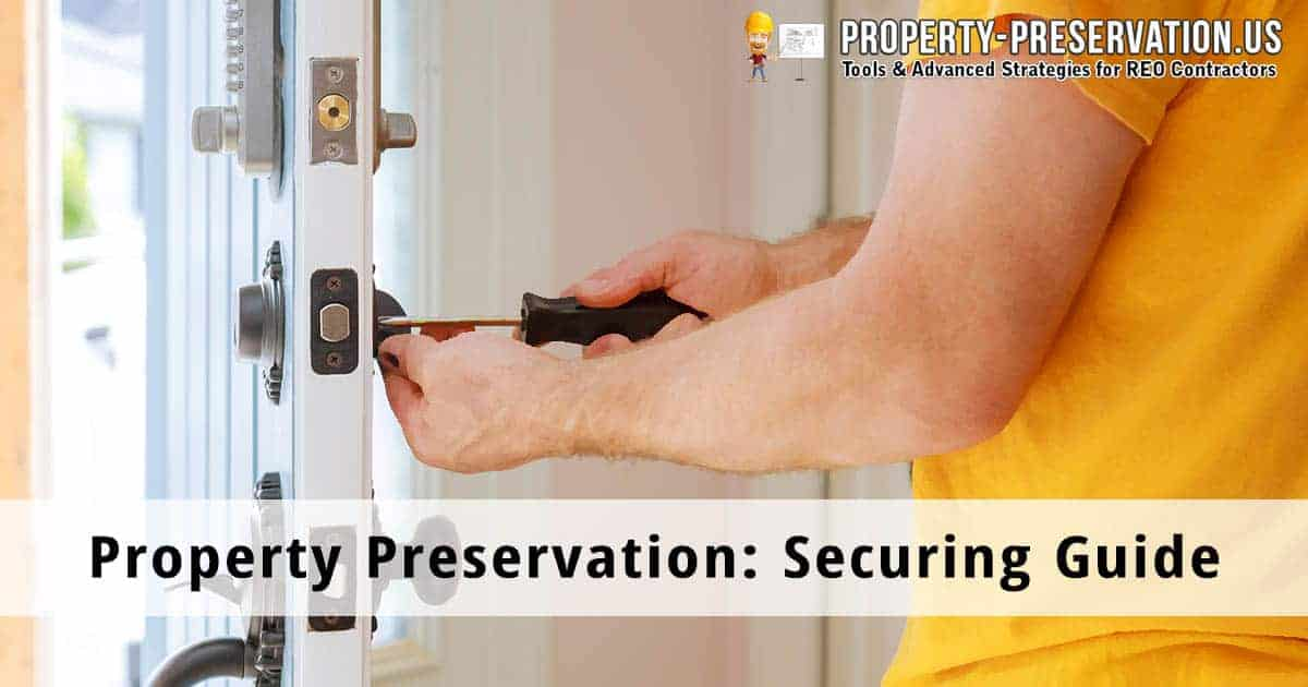 Property securing